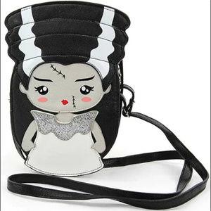 Sleepyville Bags - Bride of Frankenstein Handbag Purse Goth Horror